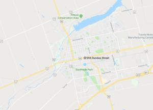 Google Map Woodstock